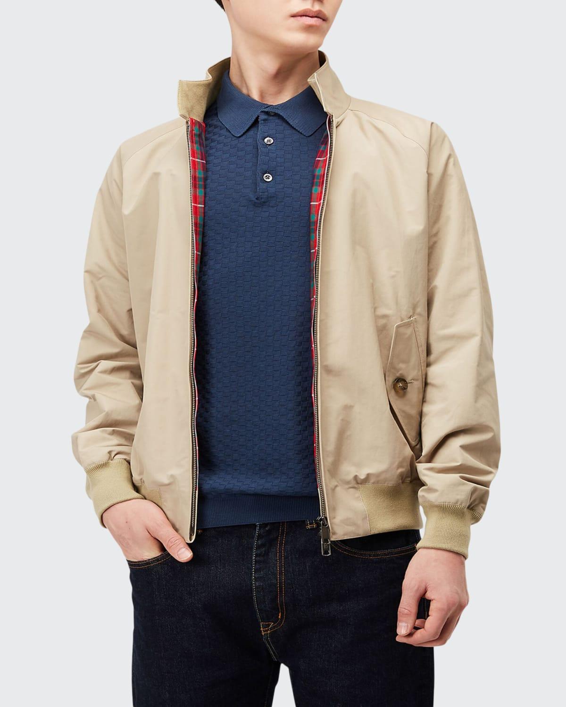 Men's G9 Tartan-Lined Jacket