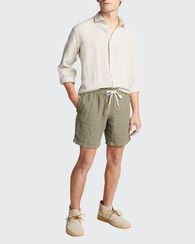 Men's Paul Delave Linen Sport Shirt