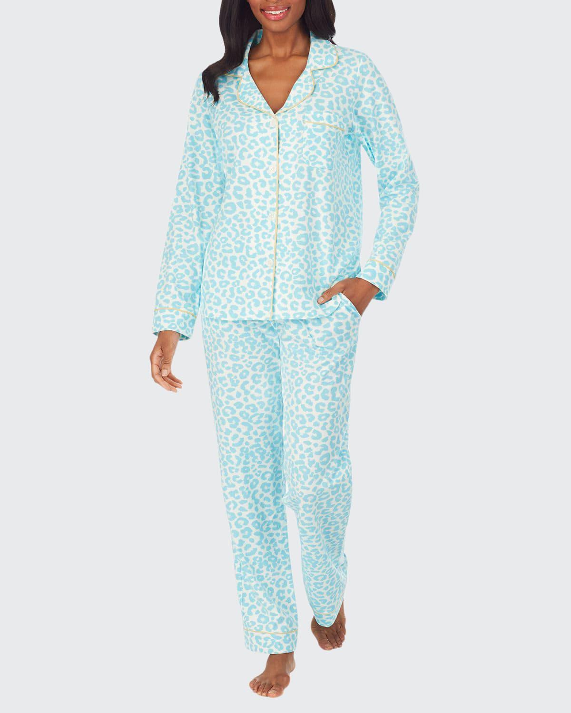 Animal Instinct Classic Long-Sleeve Pajama Set