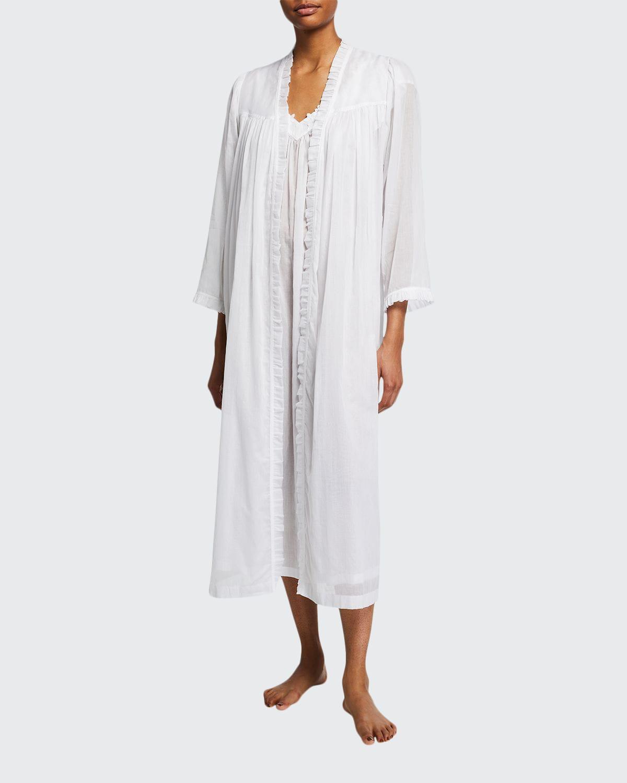 Celeste 1 Open-Front Cotton Robe