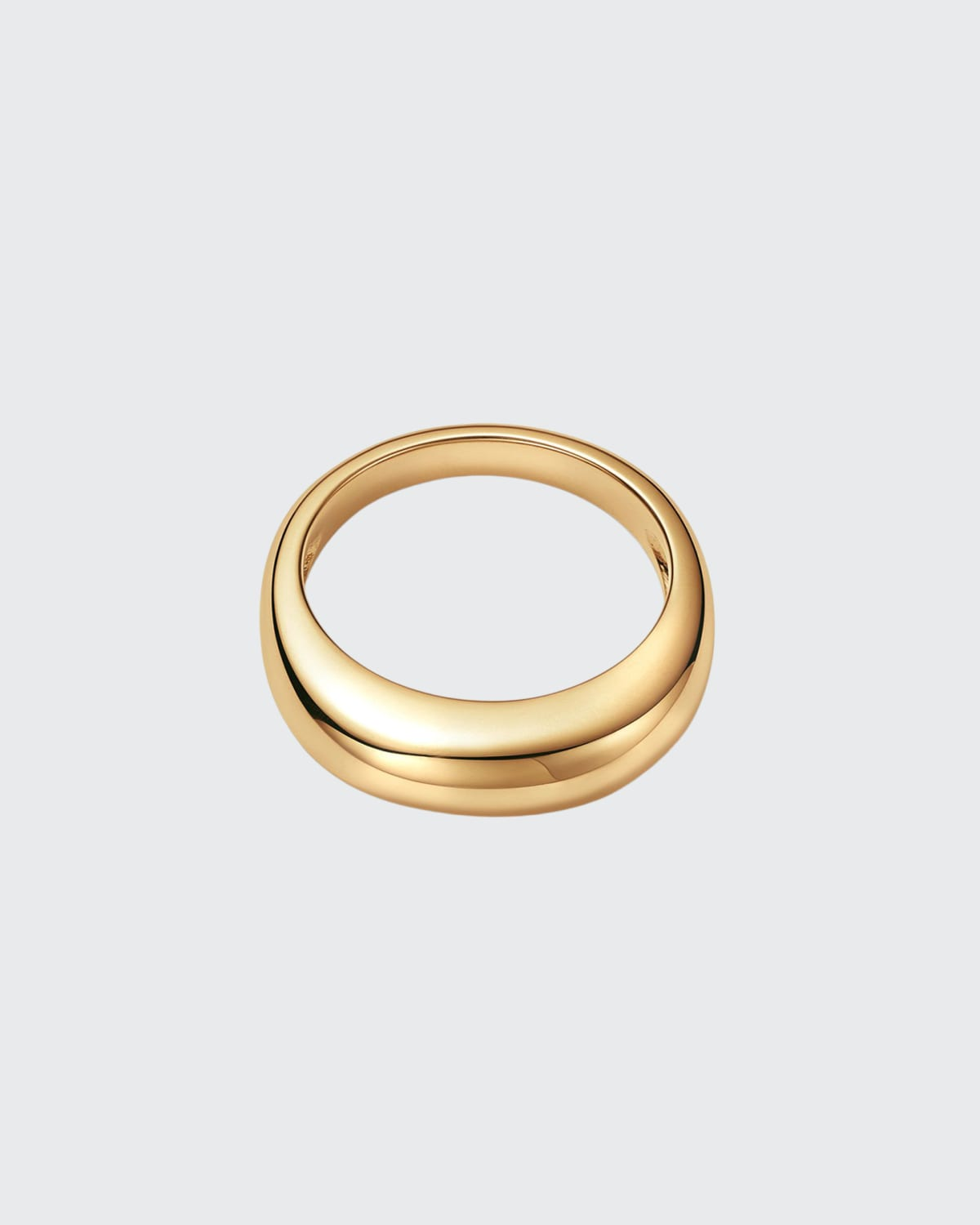 18K Vaulted Ring