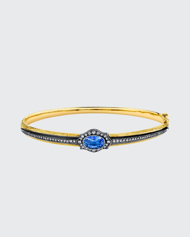 Sapphire Le Fleur Bracelet