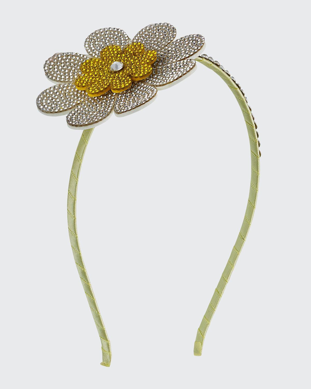 Girl's Embellished Daisy Headband