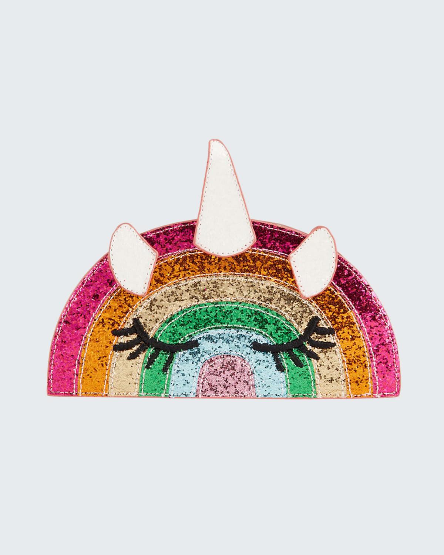 Girl's Caticorn Rainbow Crossbody Bag