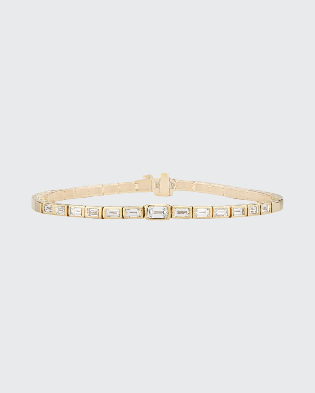 Prive Luxe Diamond Baguette Bracelet