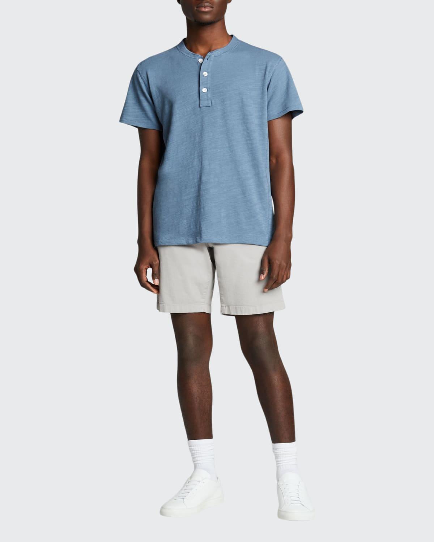 Men's Short-Sleeve Classic Henley T-Shirt