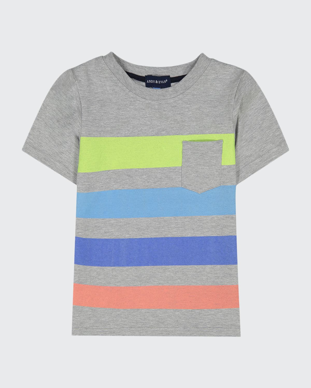 Boy's Printed Short-Sleeve T-Shirt