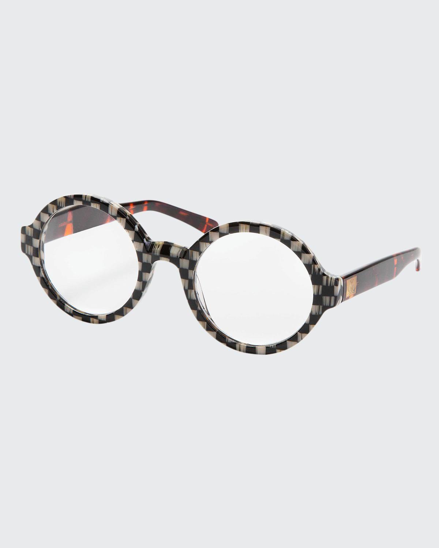 Harry Round Plastic Reading Glasses