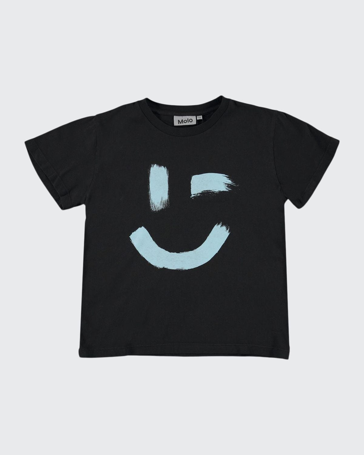 Boy's Rame Winking Smiley Face Graphic Shirt
