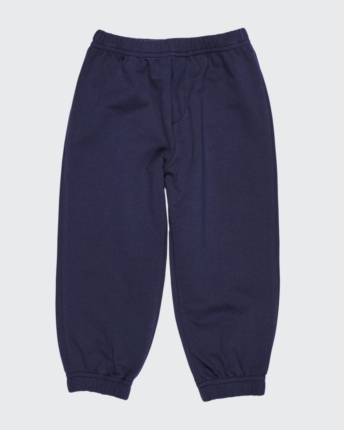 Boy's Navy French Terry Jogger Pants