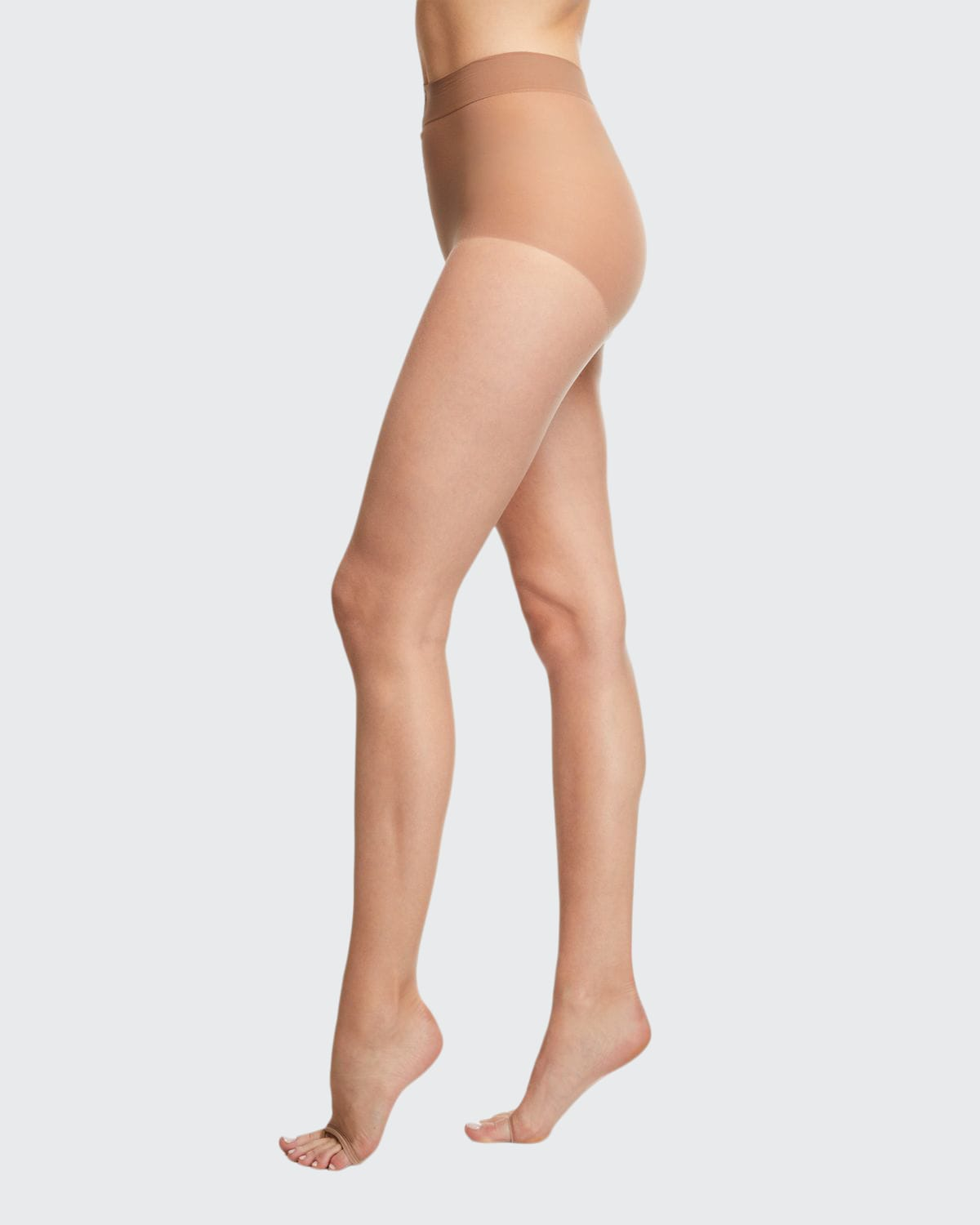 Sheer Control-Top Tights with Sandal Toe