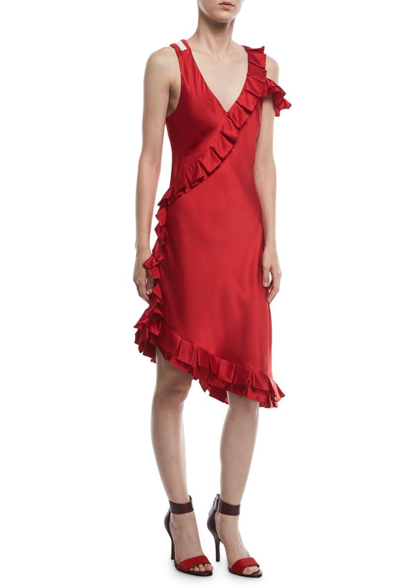 Maggie Marilyn My Special Something Asymmetric Silk Dress