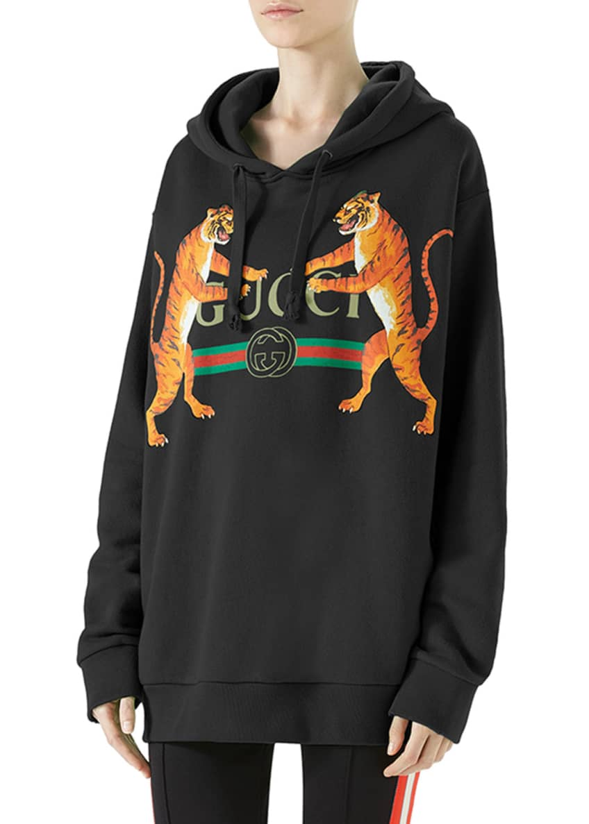 Gucci Gucci Logo Hooded Sweatshirt & Matching Items