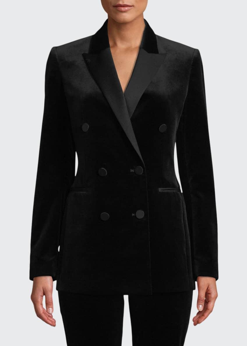 Theory Stretch Velvet Tux Jacket & Matching Items