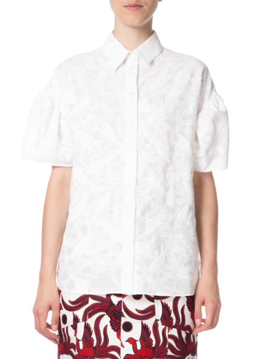 Kenzo Embroidered Shirt Balloon Sl & Matching Items