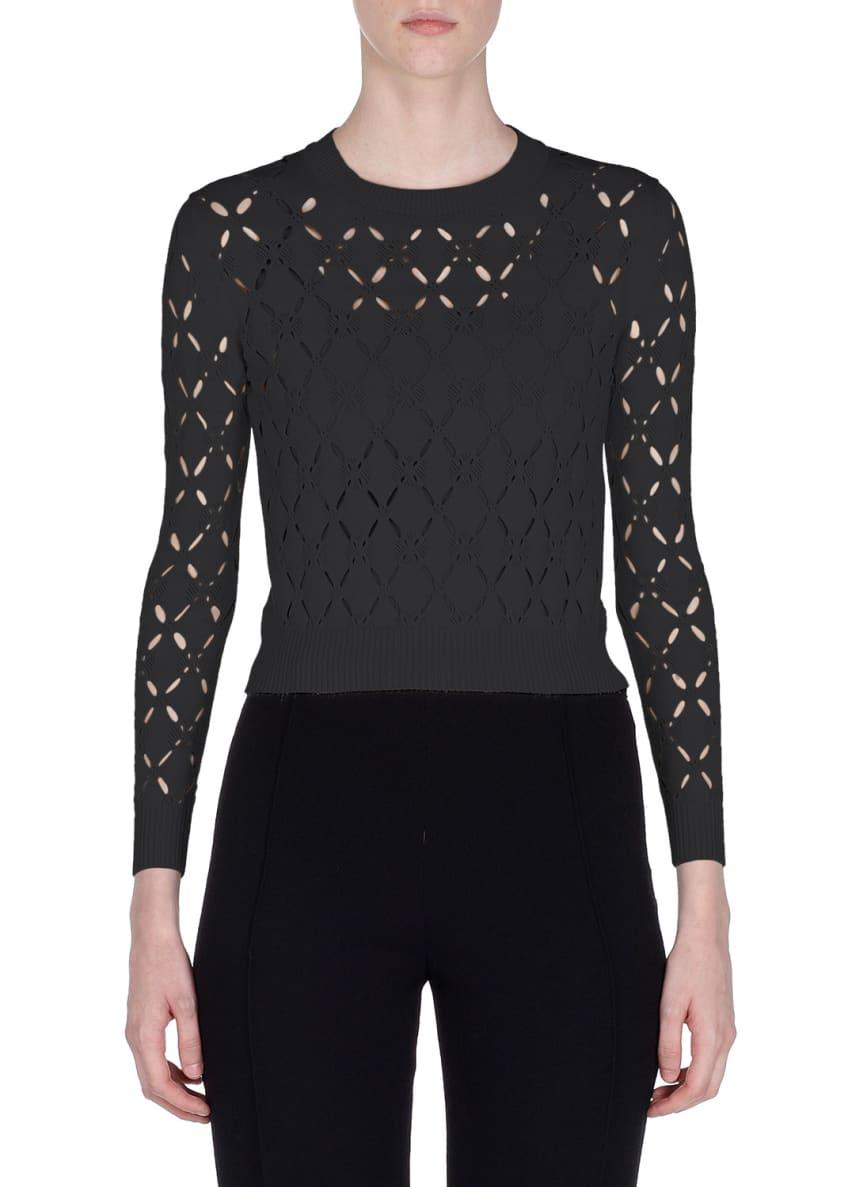 Fendi Long-Sleeve Cutout Sweater & Matching Items