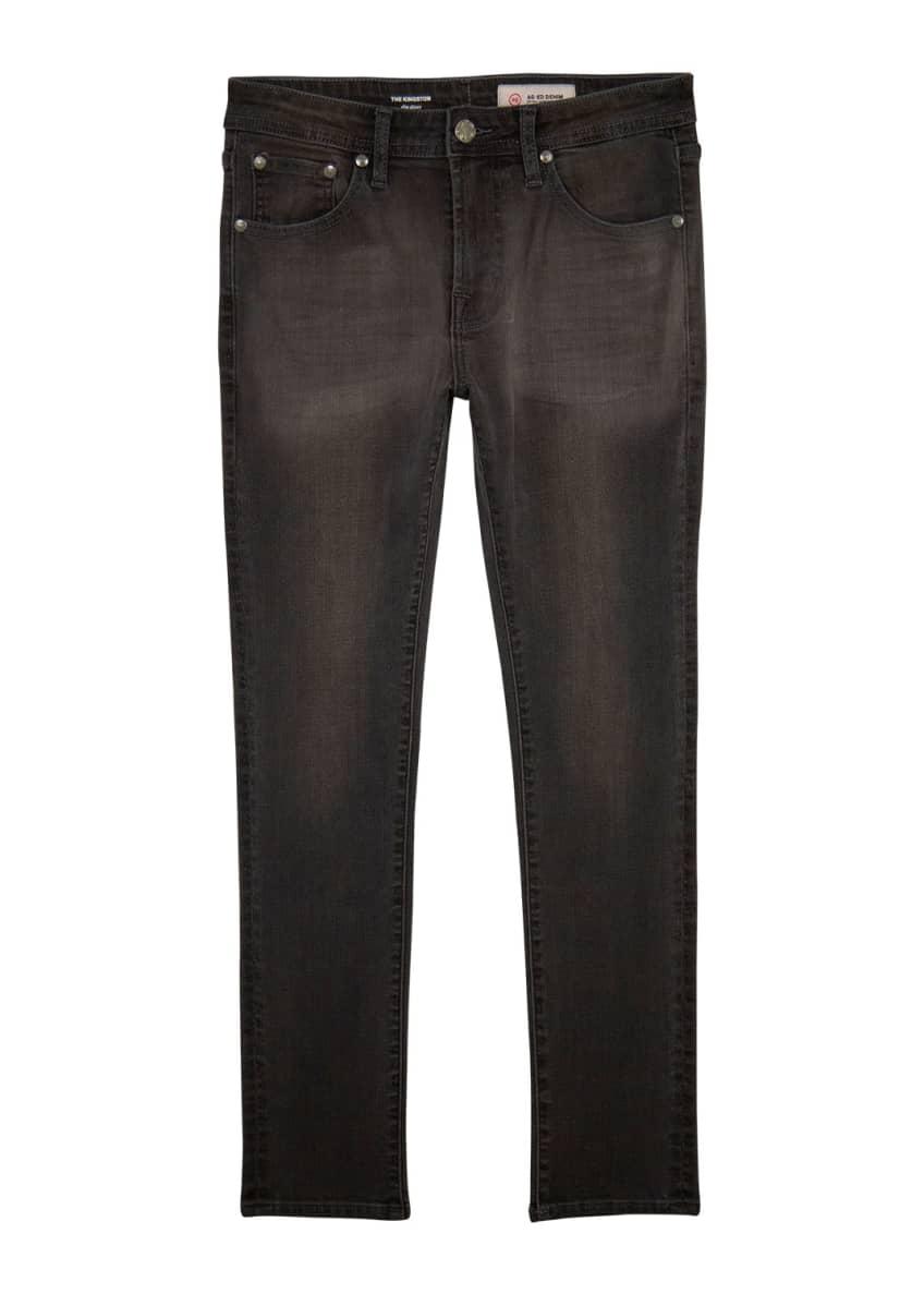 AG Adriano Goldschmied Boys' Kingston Faded Skinny Jeans,
