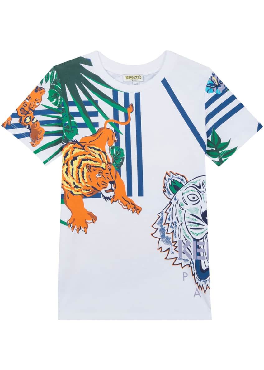 Kenzo Multi-Icon Graphic T-Shirt, Size 12-18 Months &