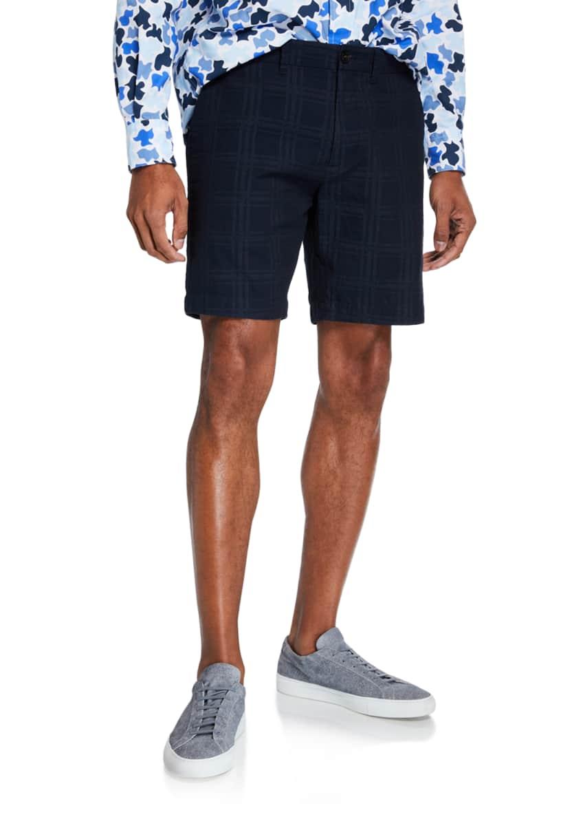 Closed Men's Camo-Print Cotton Sport Shirt & Matching