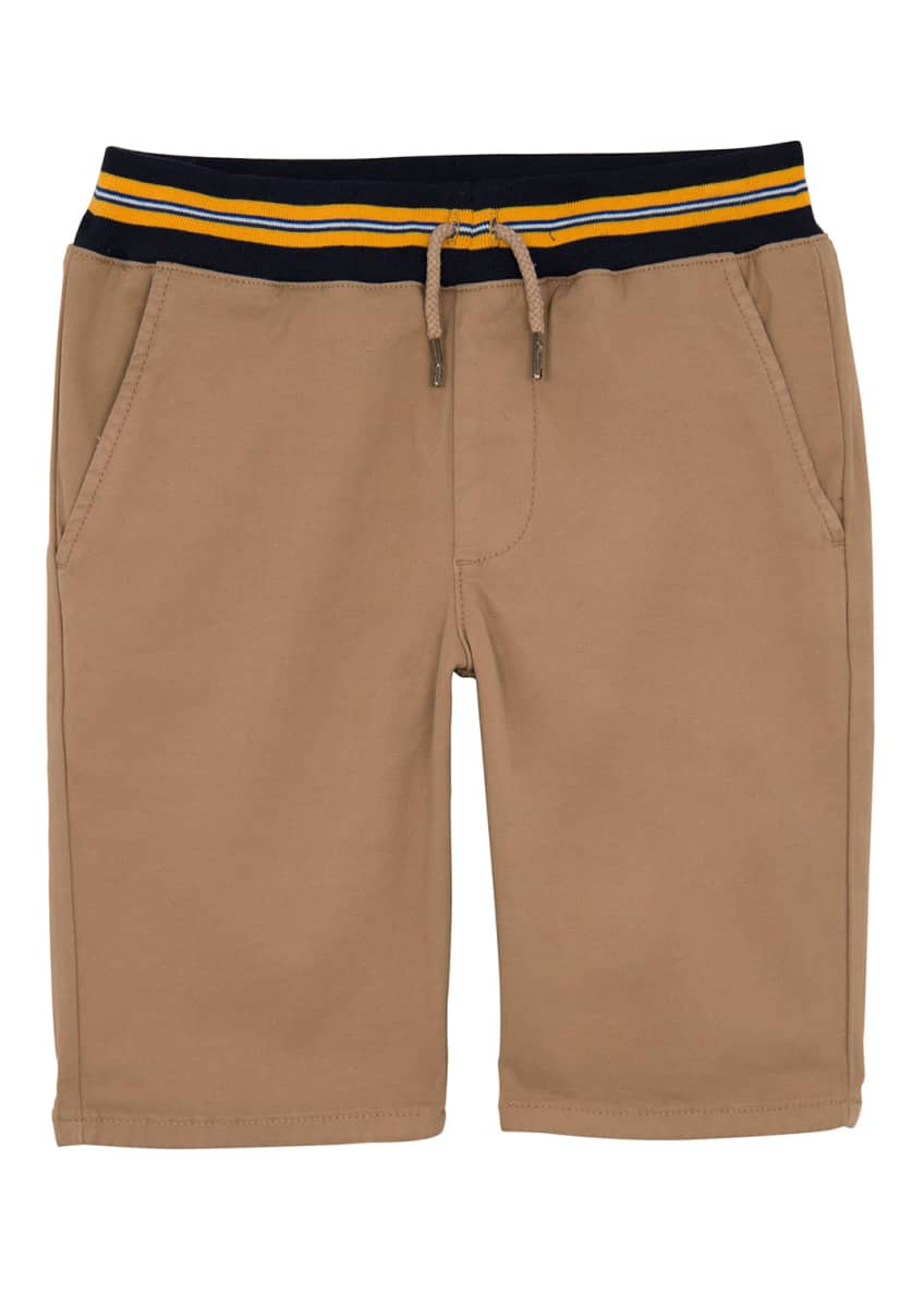 AG Adriano Goldschmied Boys' The Kace Drawstring Shorts,