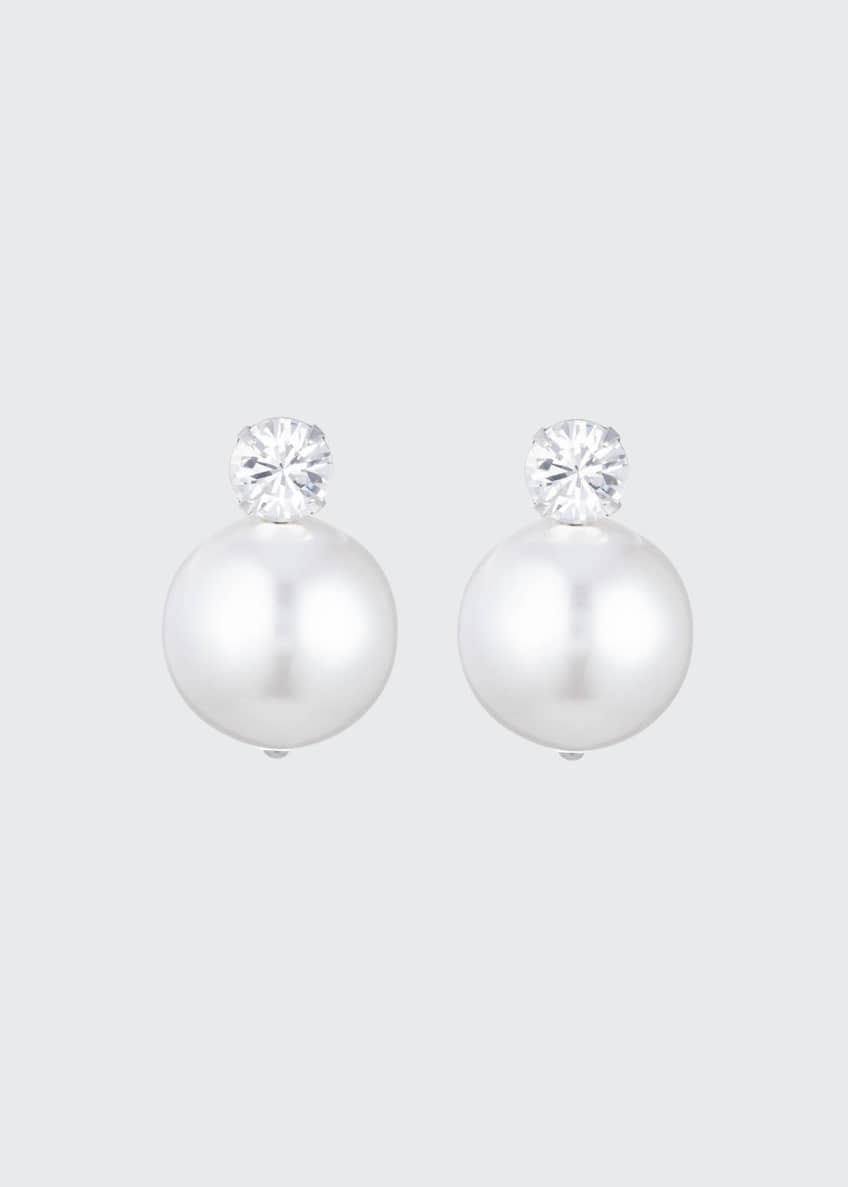 Dannijo Erin Pearly Stud Earrings