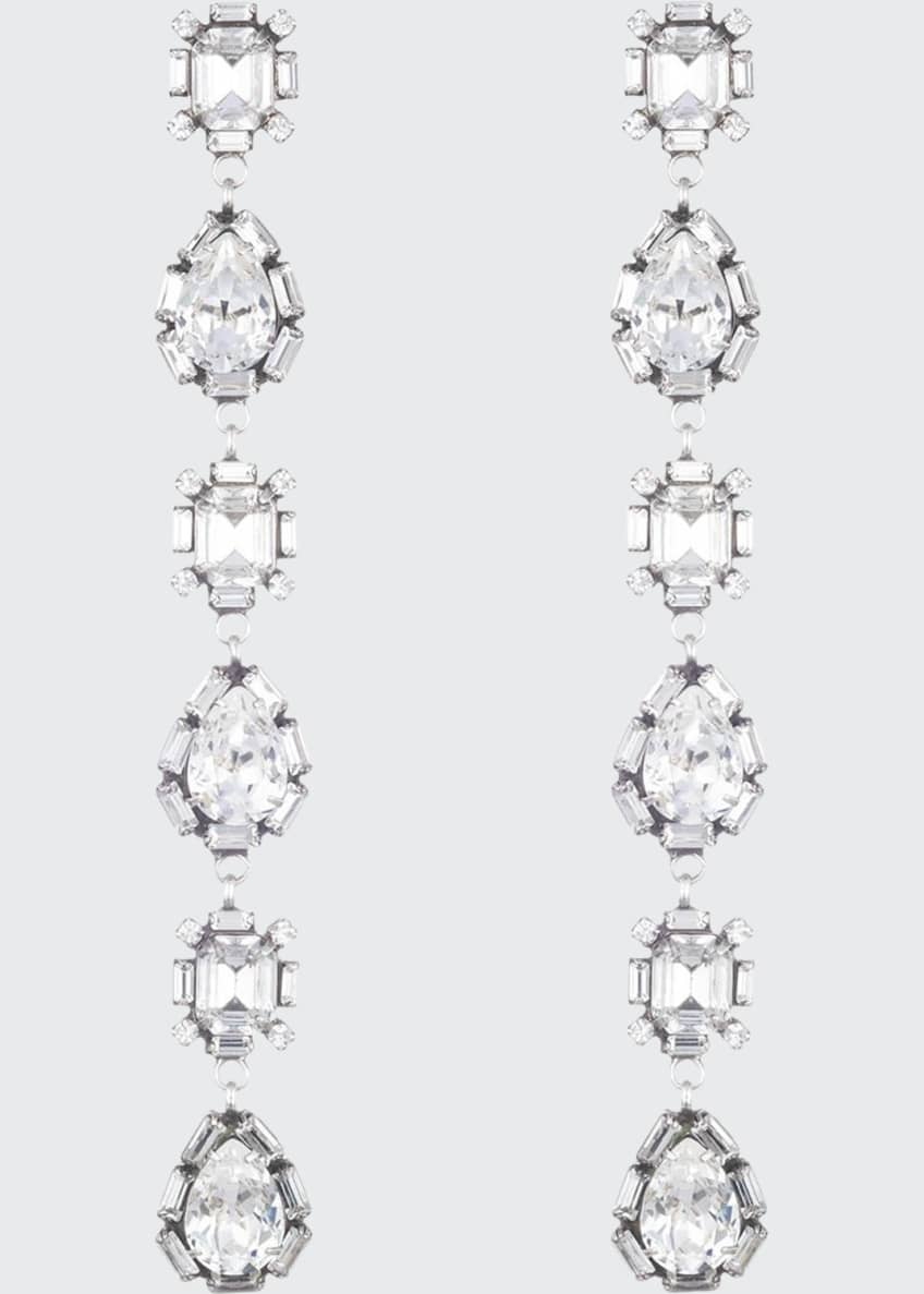 Dannijo Jodes Crystal Dangle Earrings