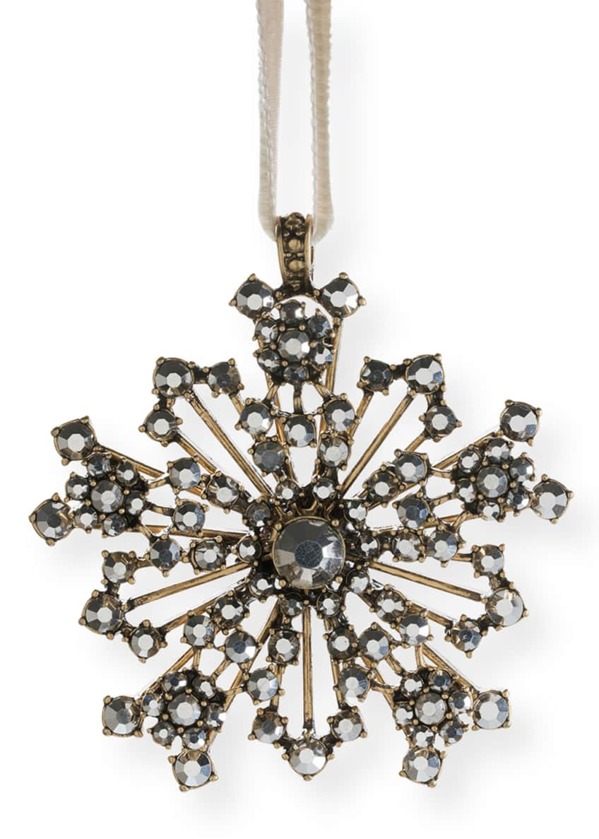 Image 2 of 2: Snowflake Hanging Ornament