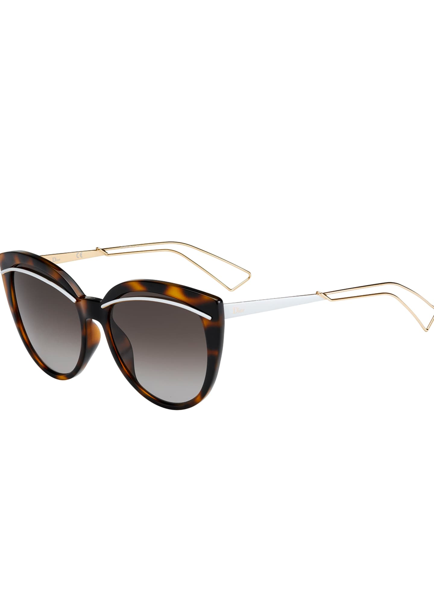 Dior Liners Butterfly Cutout Sunglasses