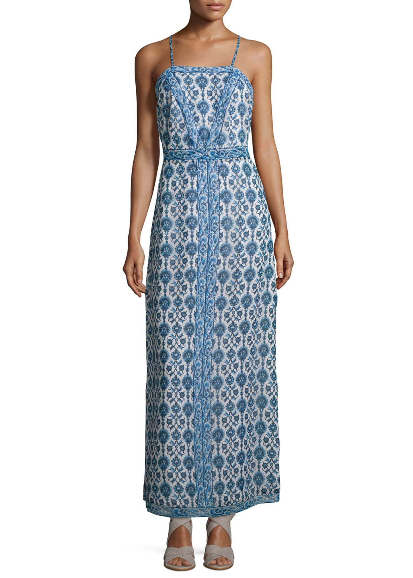 Joie Alister Floral-Print Maxi Dress