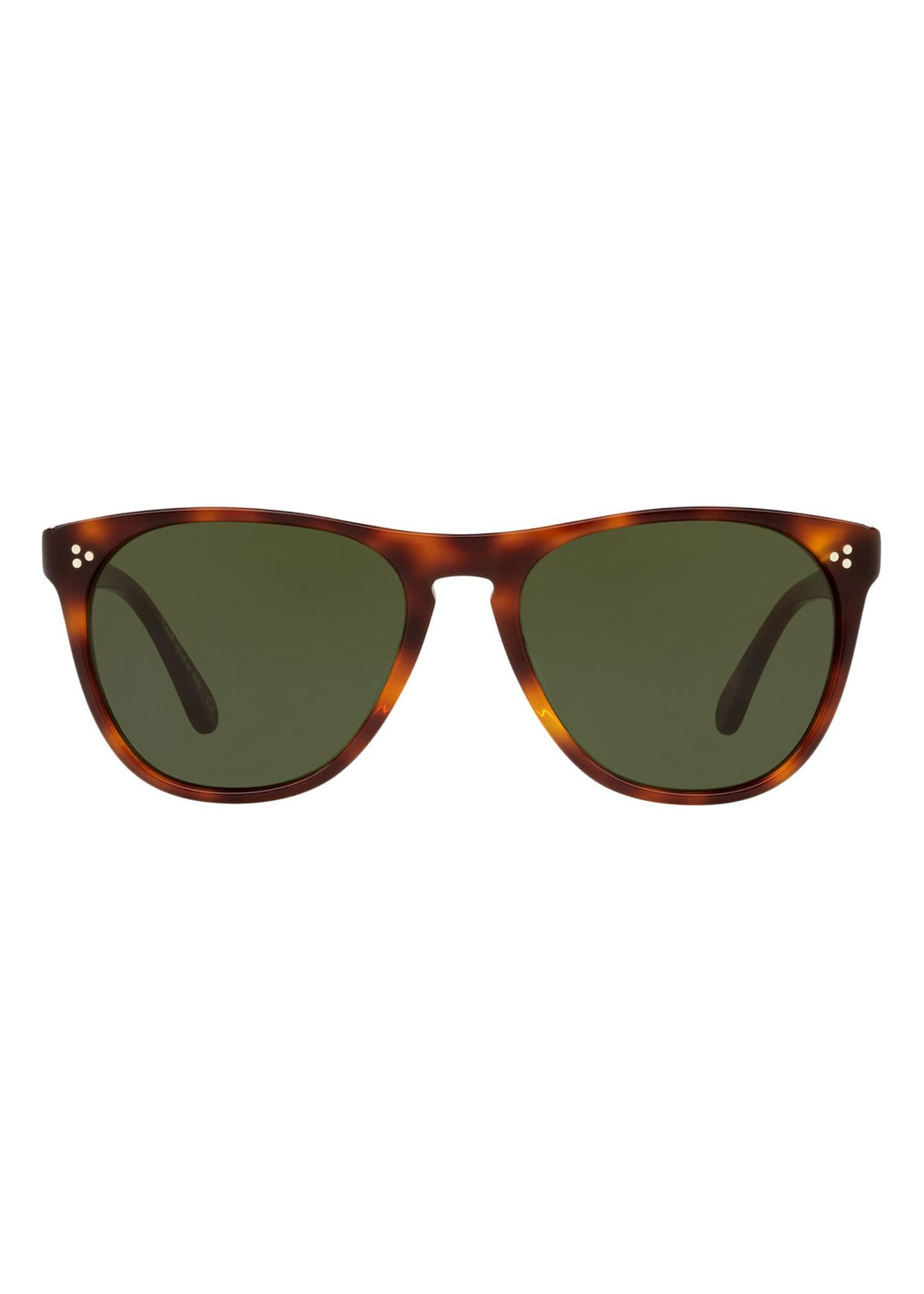 Image 2 of 2: Daddy B Square Acetate Sunglasses