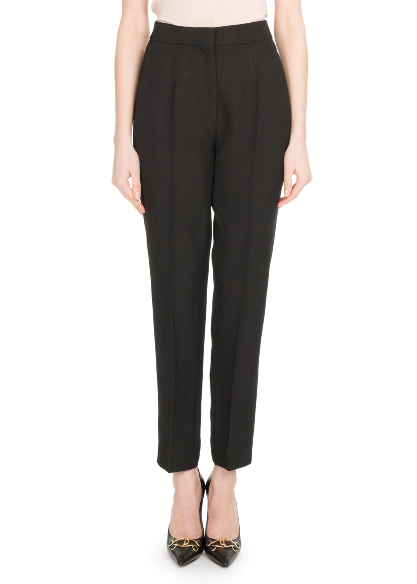 Olivier Theyskens Cropped Suiting Pants
