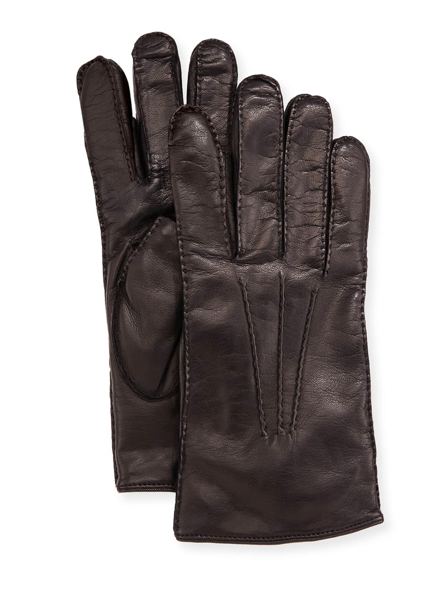 Guanti Giglio Fiorentino Three-Cord Napa Leather Gloves