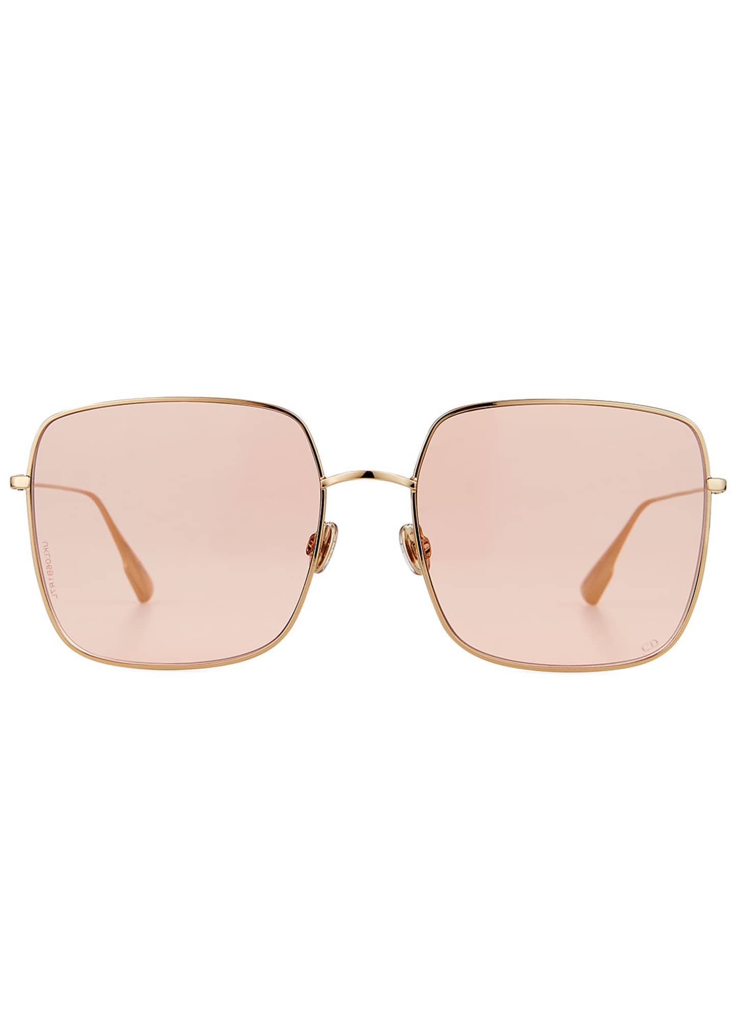 Image 2 of 3: Diostellaire1 Square Metal Sunglasses