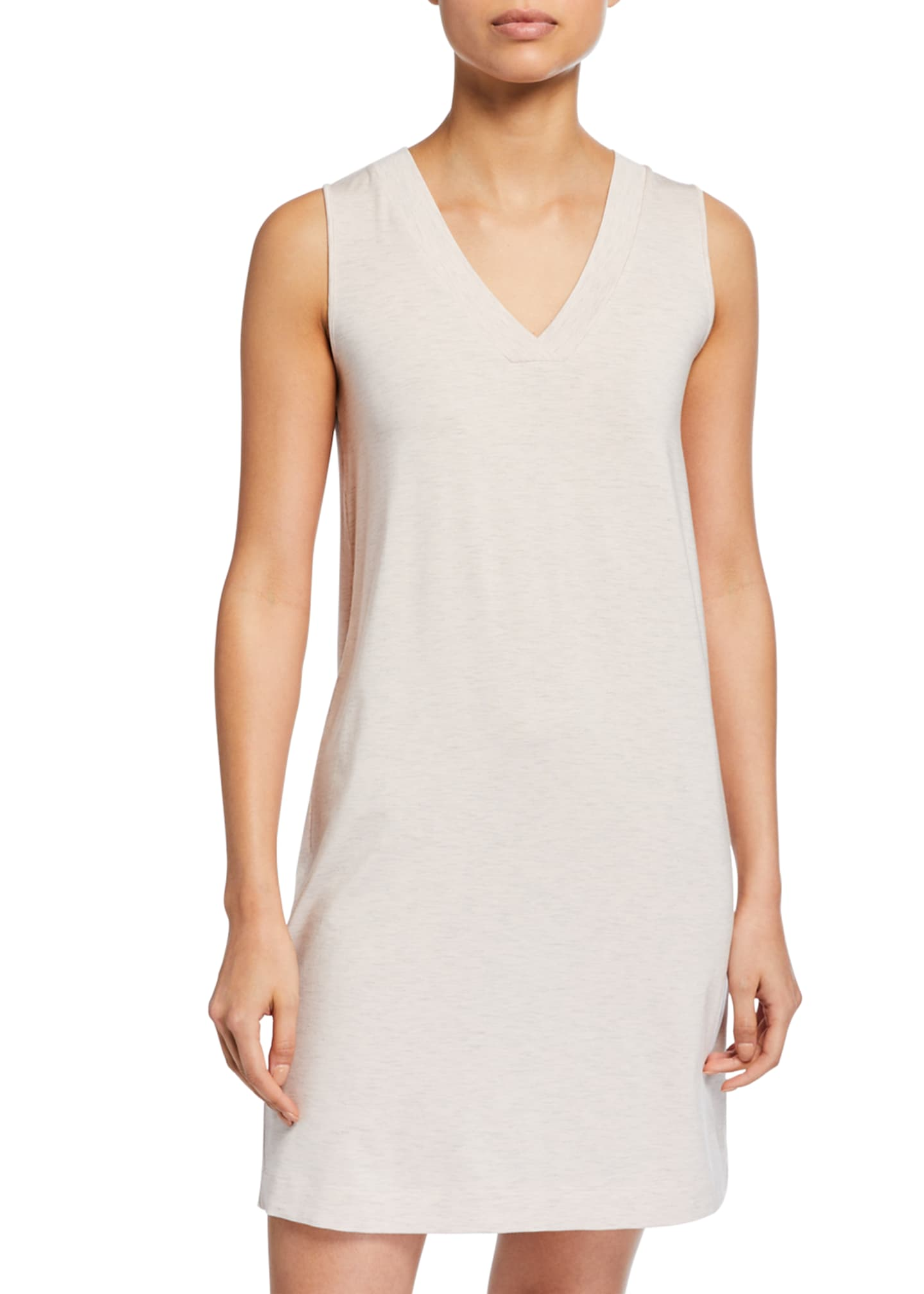 Hanro Champagne Tank Gown