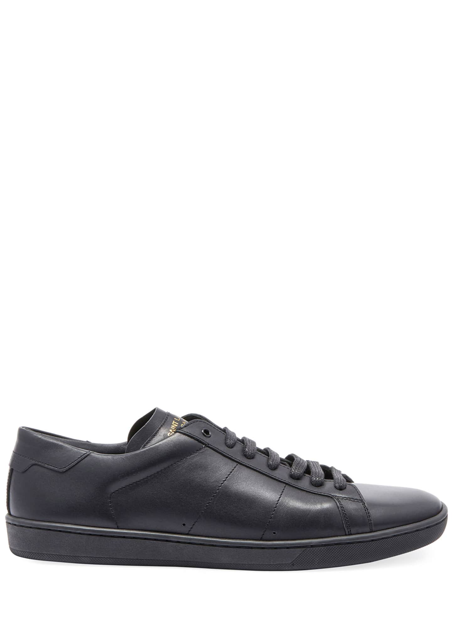 Image 2 of 3: Men's SL01 Leather Low-Top Sneakers
