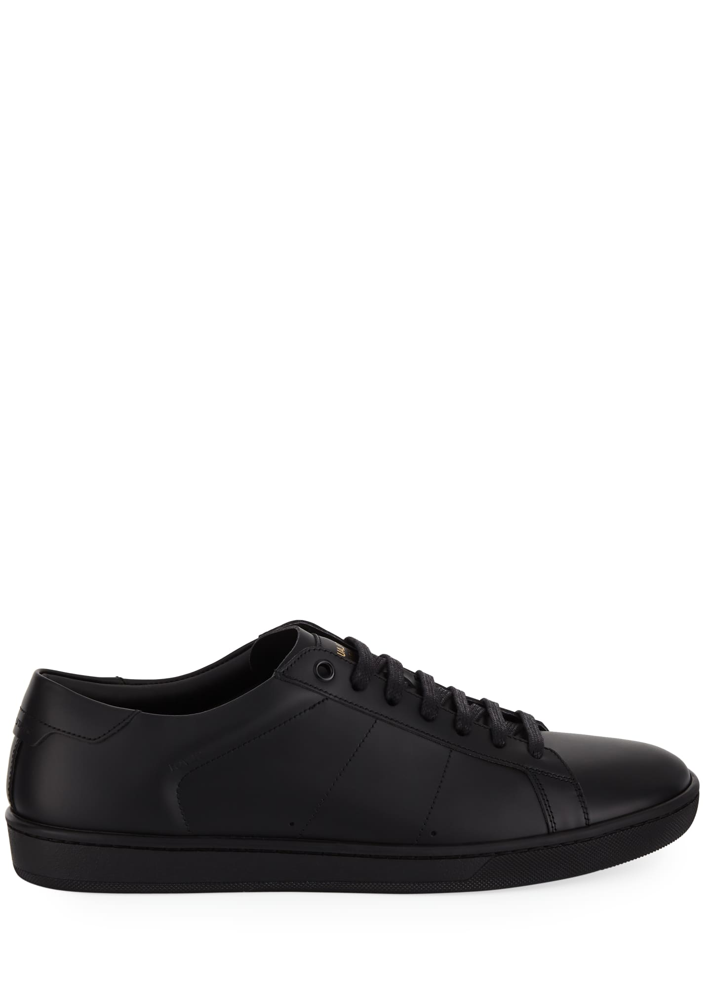 Image 3 of 3: Men's SL01 Leather Low-Top Sneakers