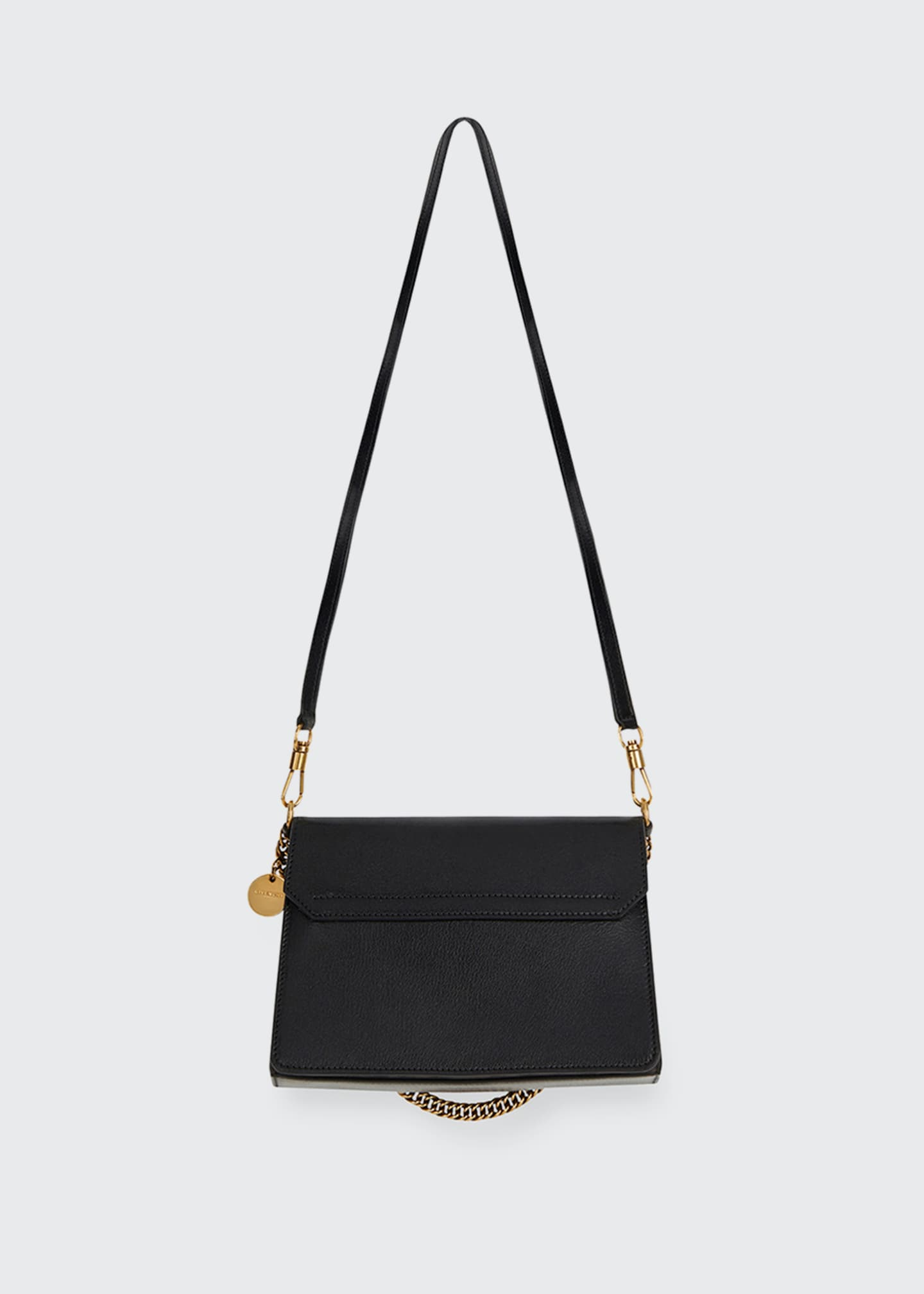 Image 3 of 5: GV3 Small Pebbled Leather Crossbody Bag