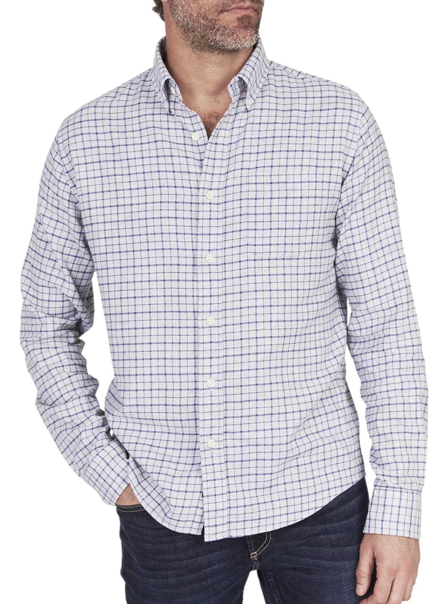 Faherty Men's Pacific Check Sport Shirt