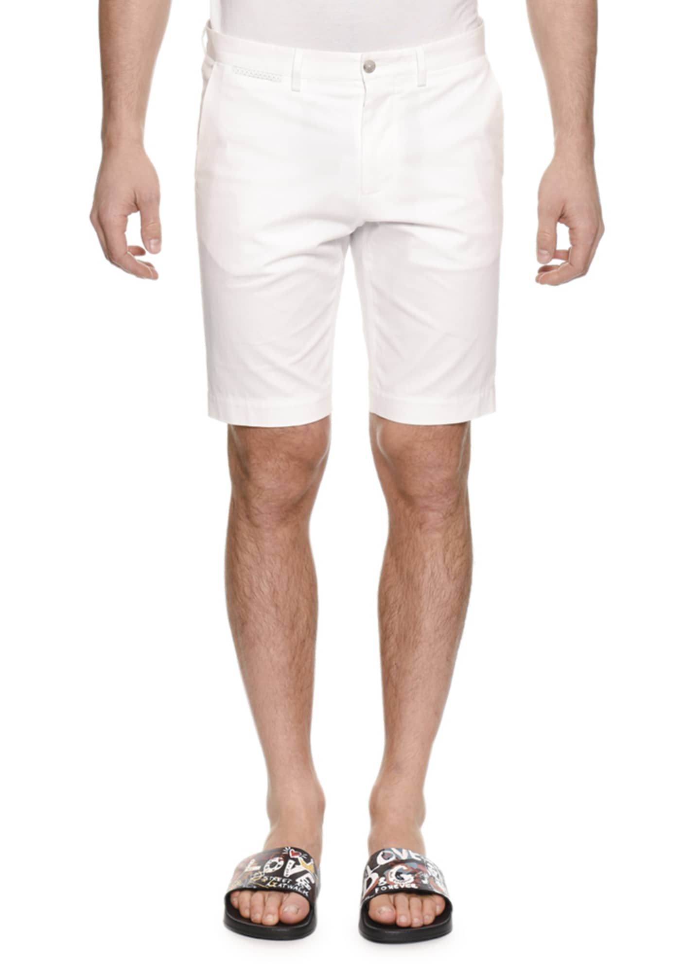 Dolce & Gabbana Men's Straight-Leg Denim Shorts