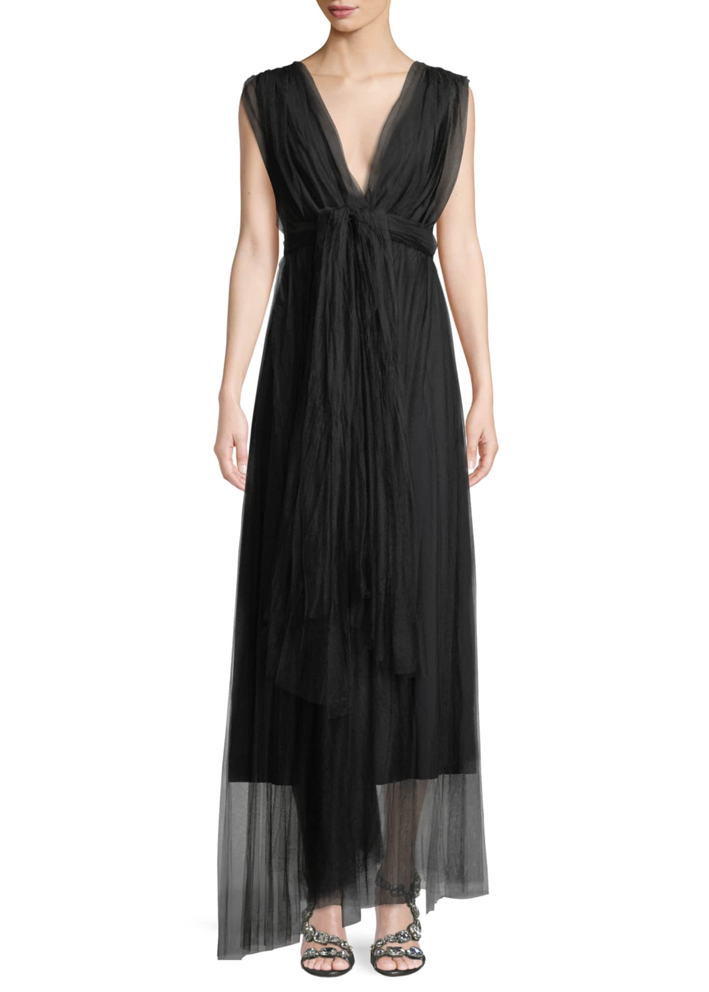 Chiara Boni La Petite Robe Vanda V-Neck Sleeveless