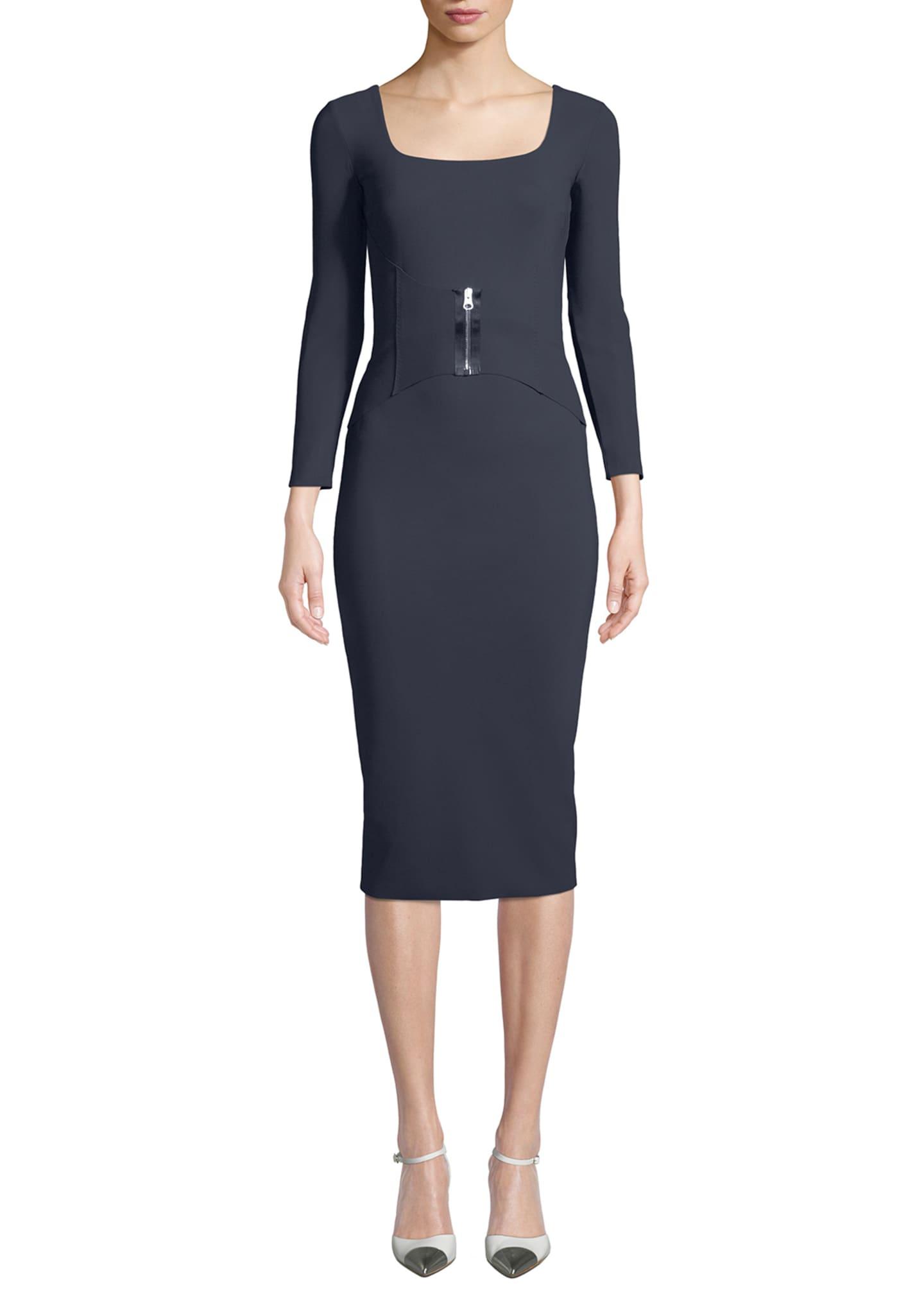 Chiara Boni La Petite Robe Humette Midi Dress