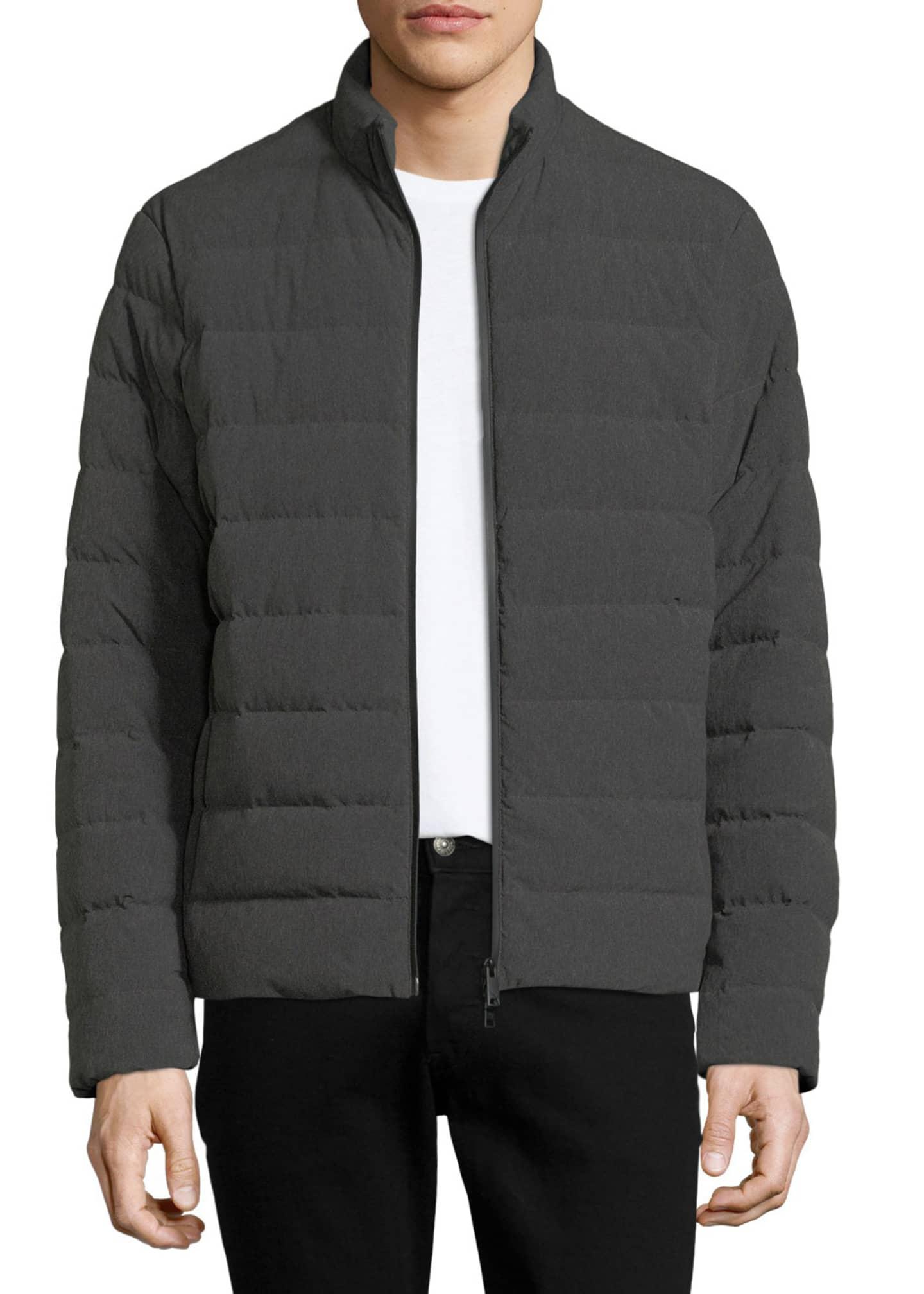 Emporio Armani Men's Polyester Melange Puffer Jacket