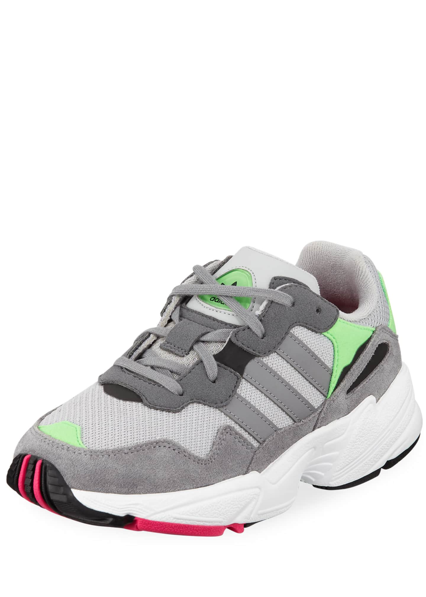 Adidas Yung-96 Colorblock Sneakers, Kids