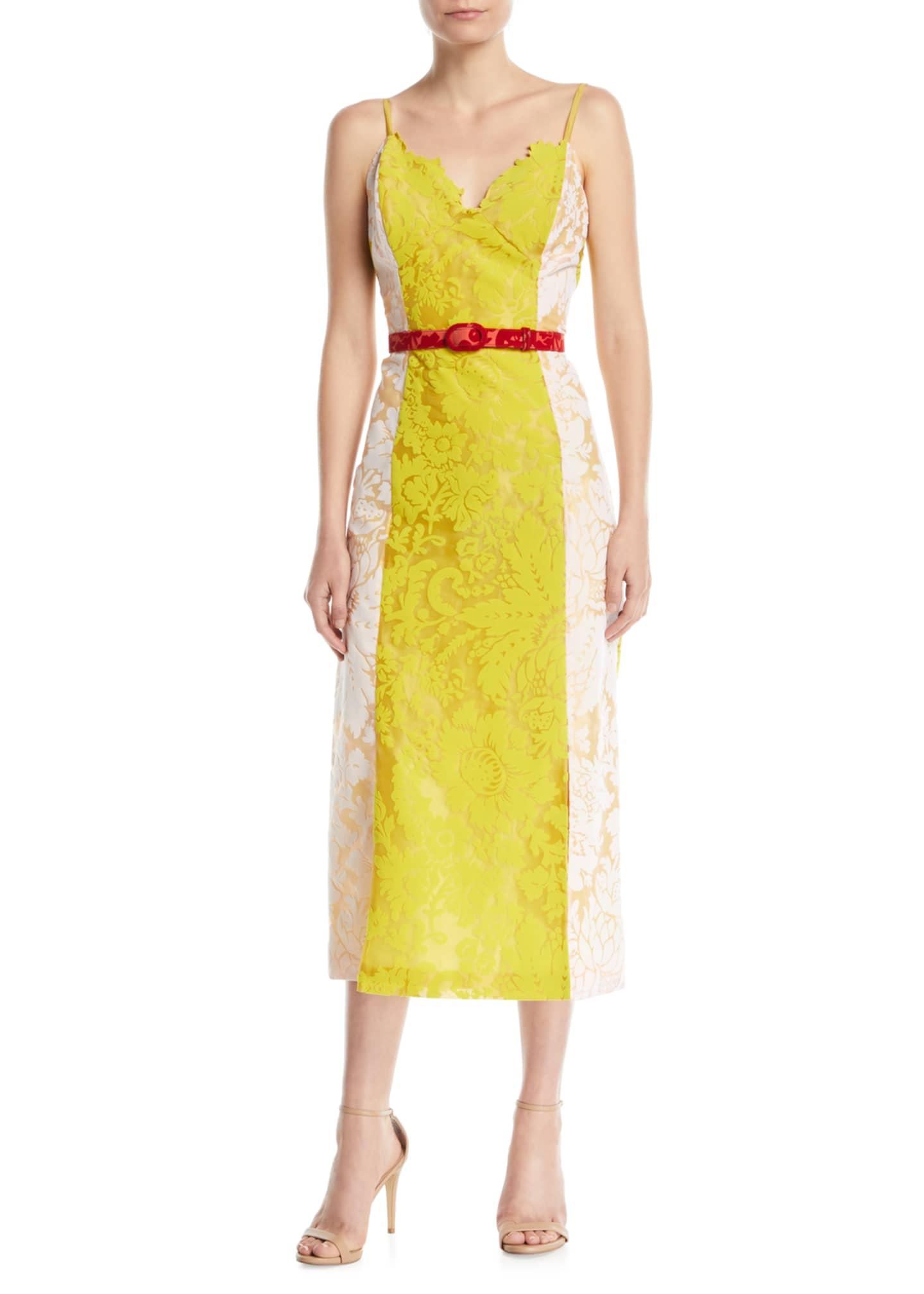 Rosie Assoulin Belted Slip Dress