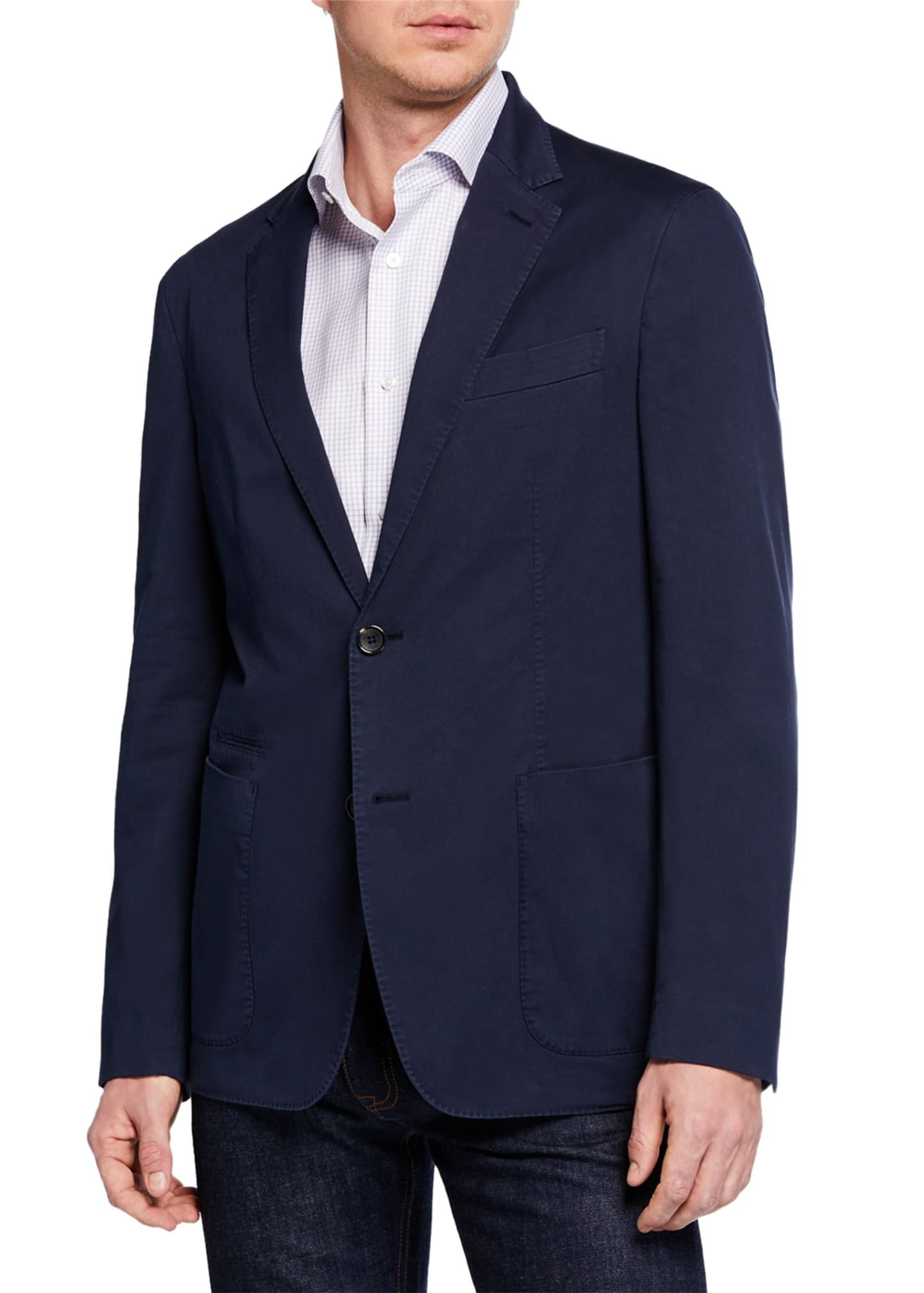 Ermenegildo Zegna Men's Regular-Fit Blazer