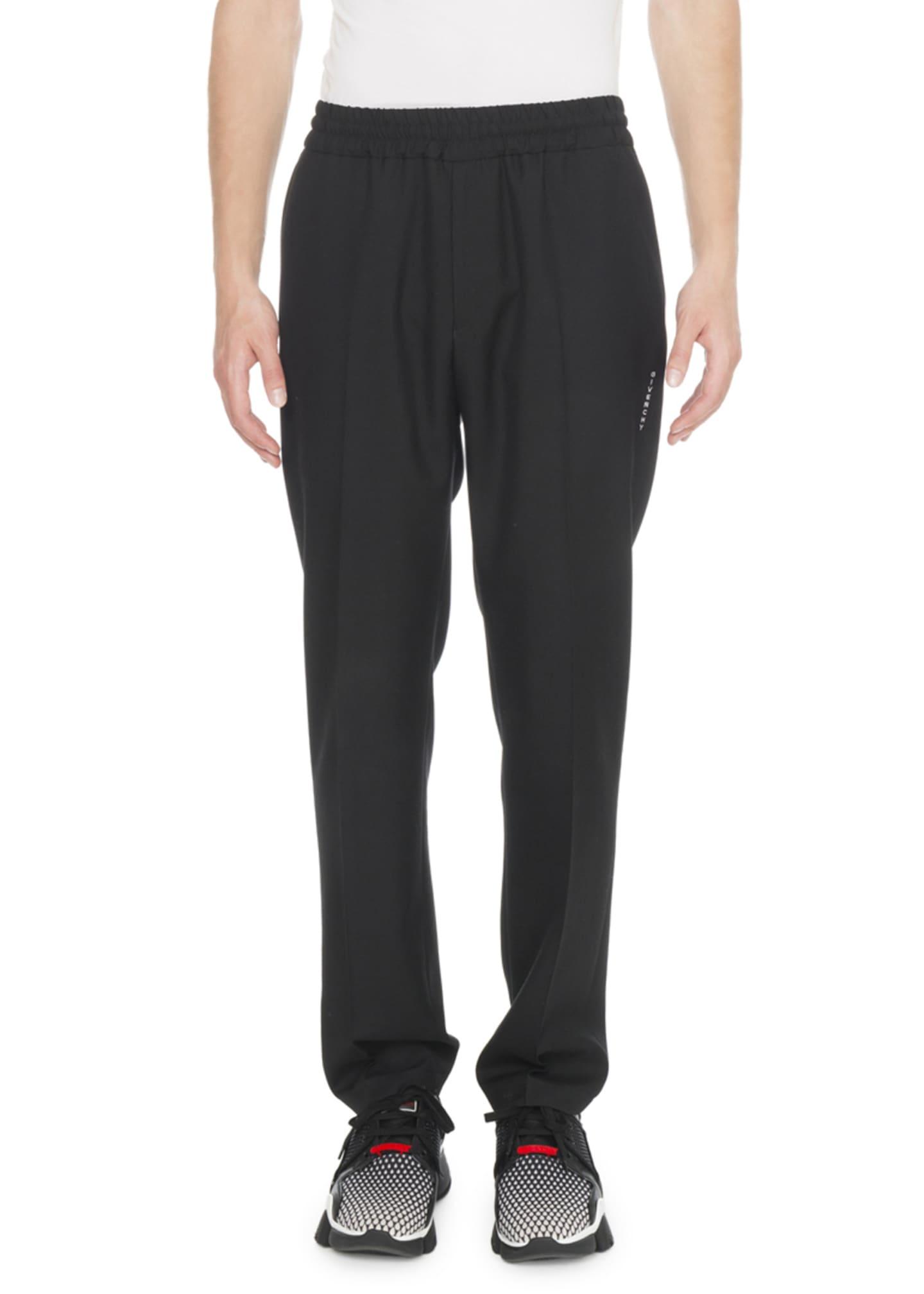 Givenchy Men's Wool Jogger Pants