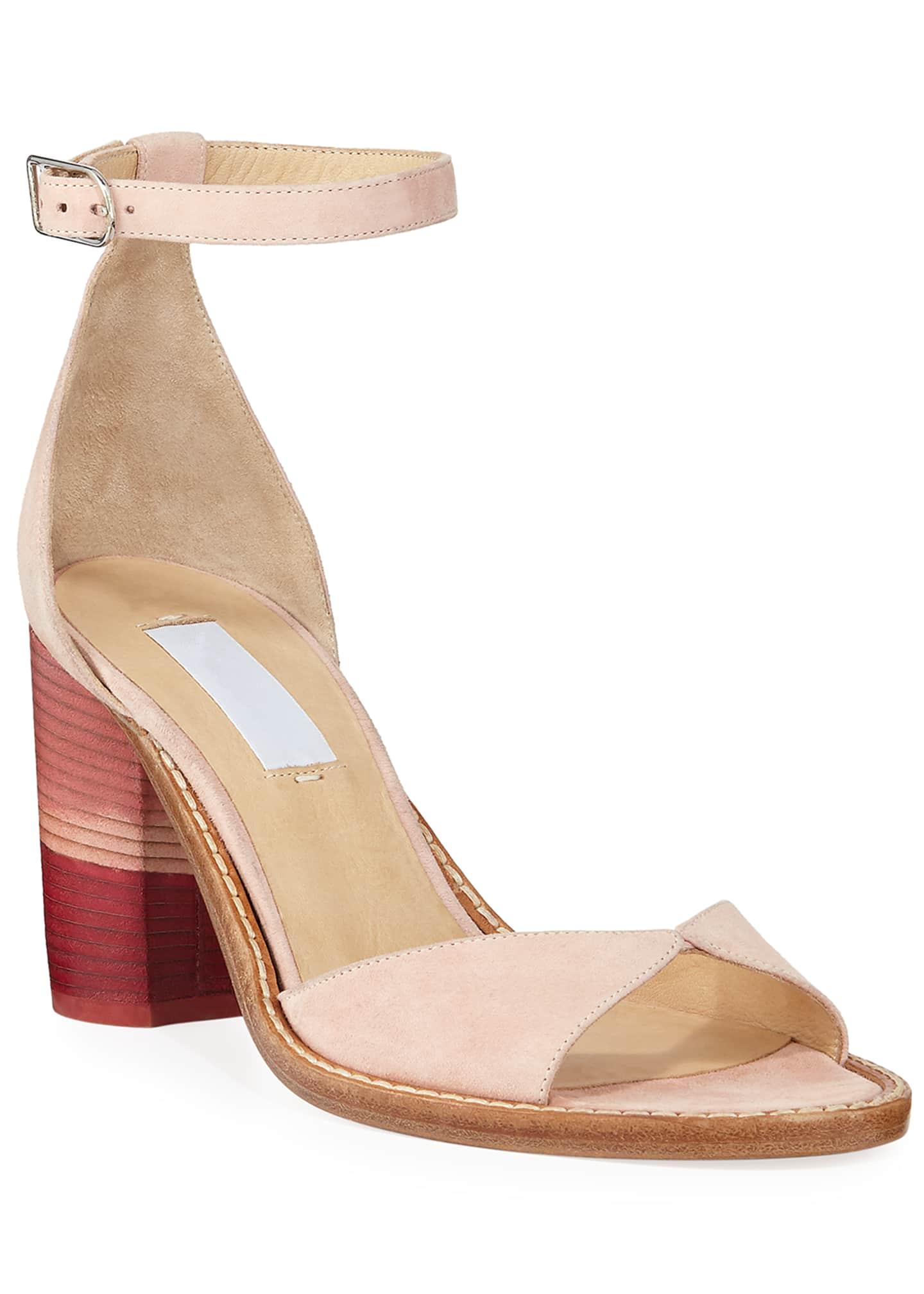 Gabriela Hearst Adi Suede Ombre Sandals