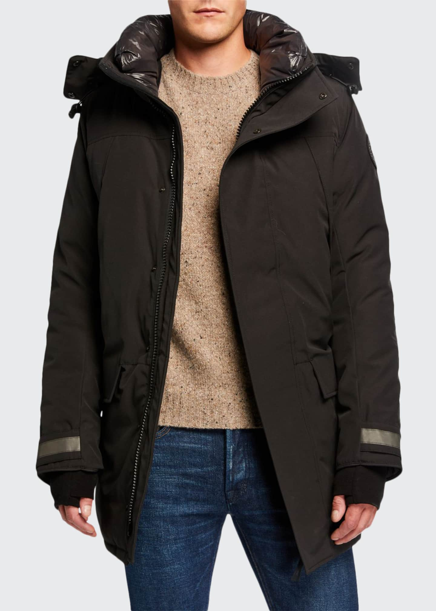 Canada Goose Men's Sherridon Fur-Trim Hooded Parka