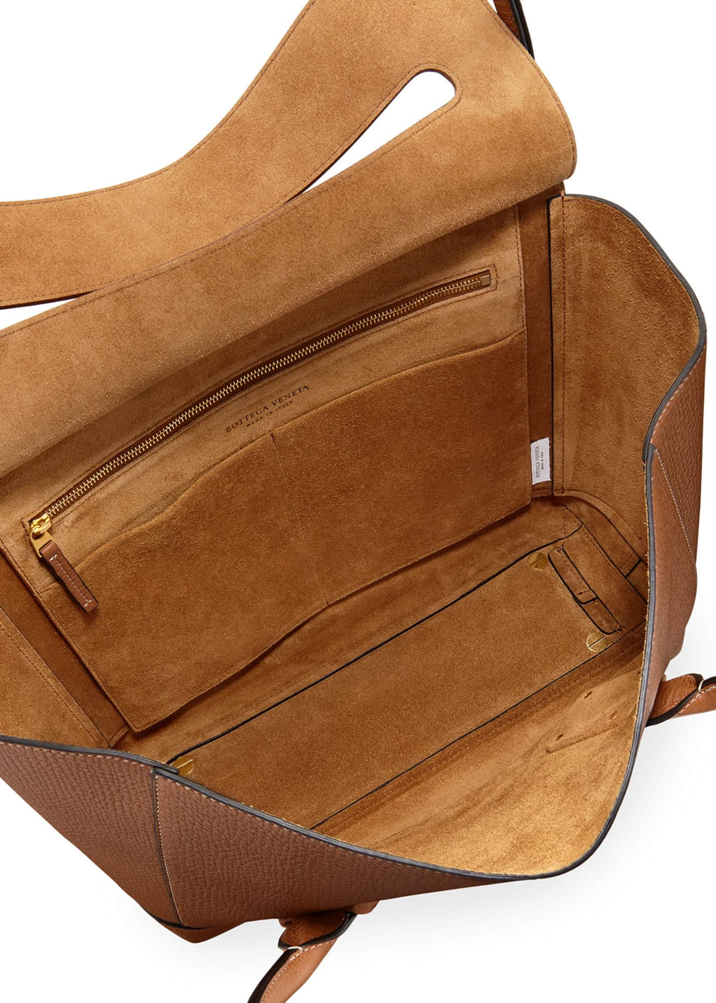 Image 2 of 5: Medium Palmellato Leather Top-Handle Bag