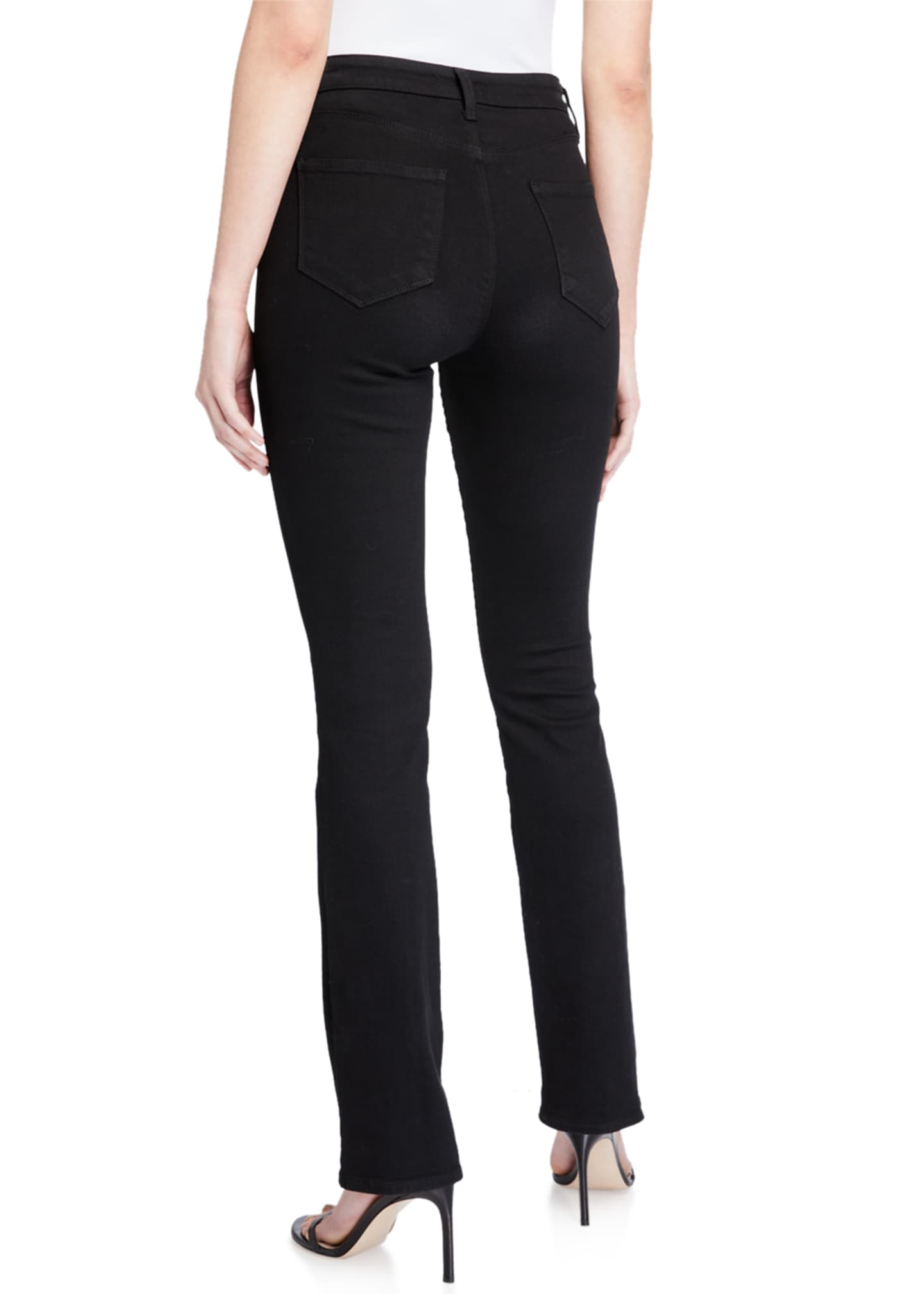 Image 2 of 5: Oriana High-Rise Straight Jeans